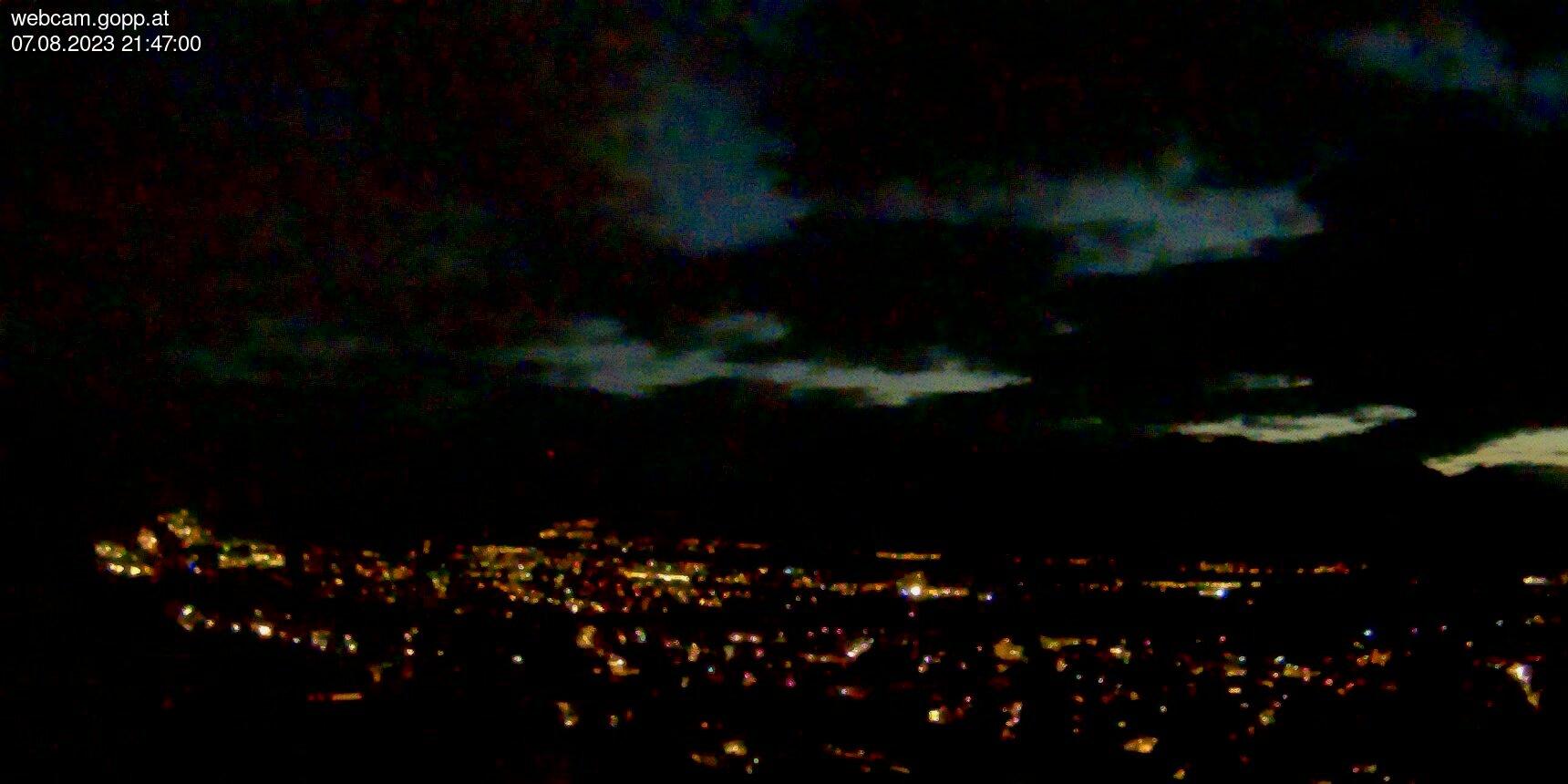 Webcam Panorama Zwischenwasser, Blick auf Feldkirch, Walgau, Rheintal, Schweizer Berge